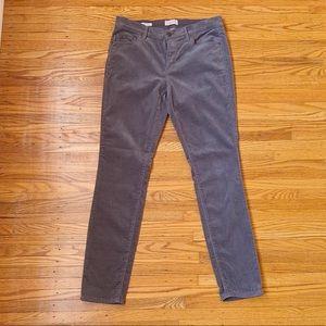LOFT Modern Skinny Gray Pants Size 8
